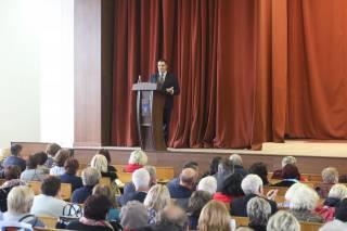 Дякую директорам шкіл, які відрядили педагогів на Луганщину, і тим, хто прийняв освітян зі сходу, - Олександр Ганущин