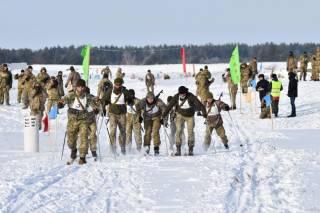 Курсанти Національної академії сухопутних військ здобули перемогу в першості ЗС України із зимового військового біатлону